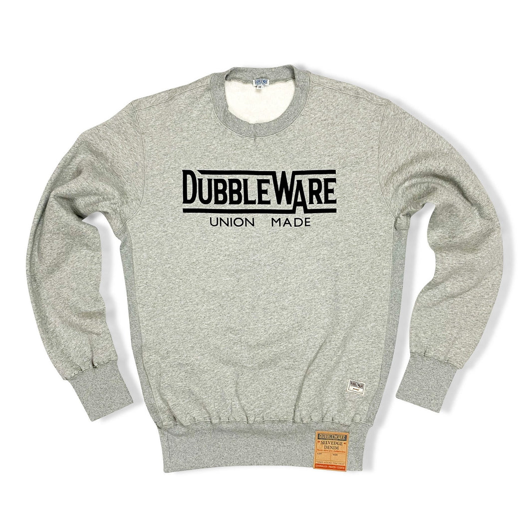 Dubbleware 'Union Made' Sweater - Heather Grey - Sunset Dry Goods & Men's Supply PH