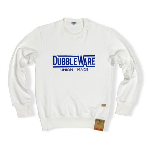 Dubbleware 'Union Made' Sweater - White - Sunset Dry Goods & Men's Supply PH
