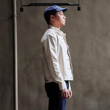 Dubblewear 'Nimes' Japanese Bull Denim Pleated Jacket - Sunset Dry Goods