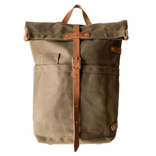 Fieldwork Co. 'Hudson Bay' Waxed Canvas Backpack - Field Tan - Sunset Dry Goods