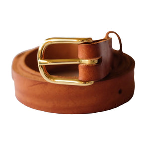 Fieldwork Co. Premium Leather Belt - Brown - Sunset Dry Goods