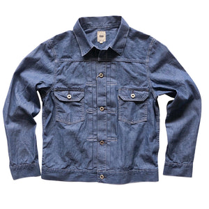 "FOB Factory ""2nd"" Chambray Jacket - Sunset Dry Goods & Men's Supply PH"