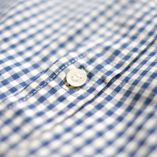 FOB Factory Gingham L/S Shirt - Indigo - Sunset Dry Goods
