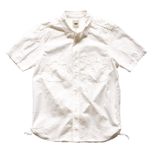 Fob Factory Ox S/S Work Shirt - White - Sunset Dry Goods