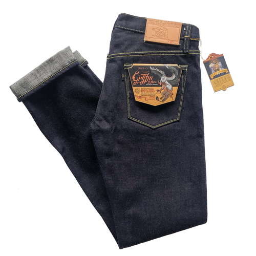 Double Hammer 'Griffin' 23oz. Unsanforized Selvedge Jeans (Slim Cut)