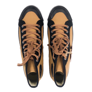 Colchester Rubber Co. Contrast High Top - Dead Grass x Black - Sunset Dry Goods