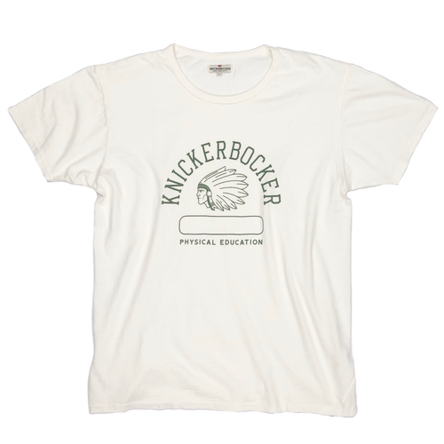 "Knickerbocker Mfg. Co. ""Phys. Ed."" Tube Tee - Milk"