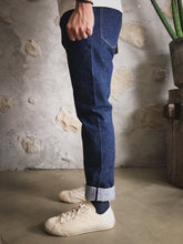 Kerbside & Co. 'Lot 81-01' 13oz. Japanese Selvedge Jeans (Slim Tapered) - Sunset Dry Goods