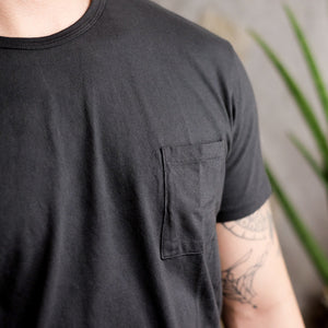 Knickerbocker Mfg. Co. Pocket Tube Tee - Coal - Sunset Dry Goods & Men's Supply PH