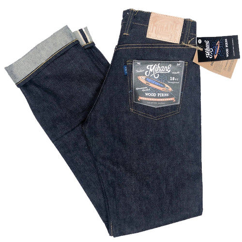 "Mihane & Co. ""Wood Pirns"" 18oz. Unsanforized Selvedge Jeans (Slim Straight) - Sunset Dry Goods & Men's Supply PH"