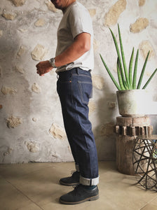 "Mihane & Co. x Show Your Hem ""Unifil Weft"" 14.5oz. Selvedge Jeans (Slim Cut) - Sunset Dry Goods & Men's Supply PH"
