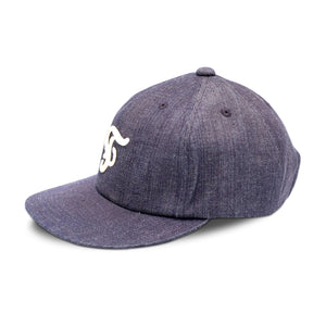 Mr. Fatman 'F' Cap - Denim - Sunset Dry Goods & Men's Supply PH