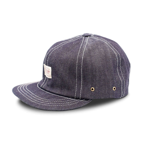 Mr. Fatman' Minerva' Cap - Denim - Sunset Dry Goods & Men's Supply PH