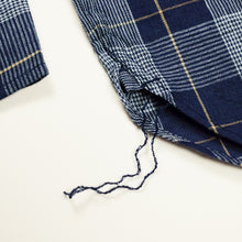 Pherrow's 'PBD2' Glen Check L/S Shirt - Navy - Sunset Dry Goods & Men's Supply PH