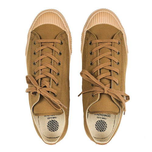PRAS Shellcap Low Hanpu Sneakers - Cha x Gum - Sunset Dry Goods & Men's Supply PH
