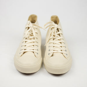 PRAS Shellcap Mid Hanpu Sneakers - Kinari x Off White - Sunset Dry Goods