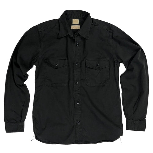 Runabout Goods Guide Cotton Twill L/S Shirt - Coal - Sunset Dry Goods & Men's Supply PH