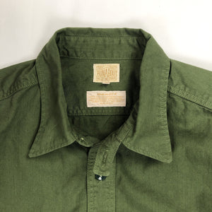 Runabout Goods 'Guide Shirt' Cotton Twill L/S Work Shirt - Foliage - Sunset Dry Goods