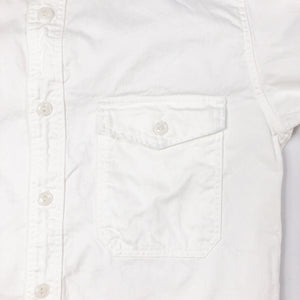 Runabout Goods 'Guide Shirt' Cotton Twill L/S Work Shirt - White - Sunset Dry Goods