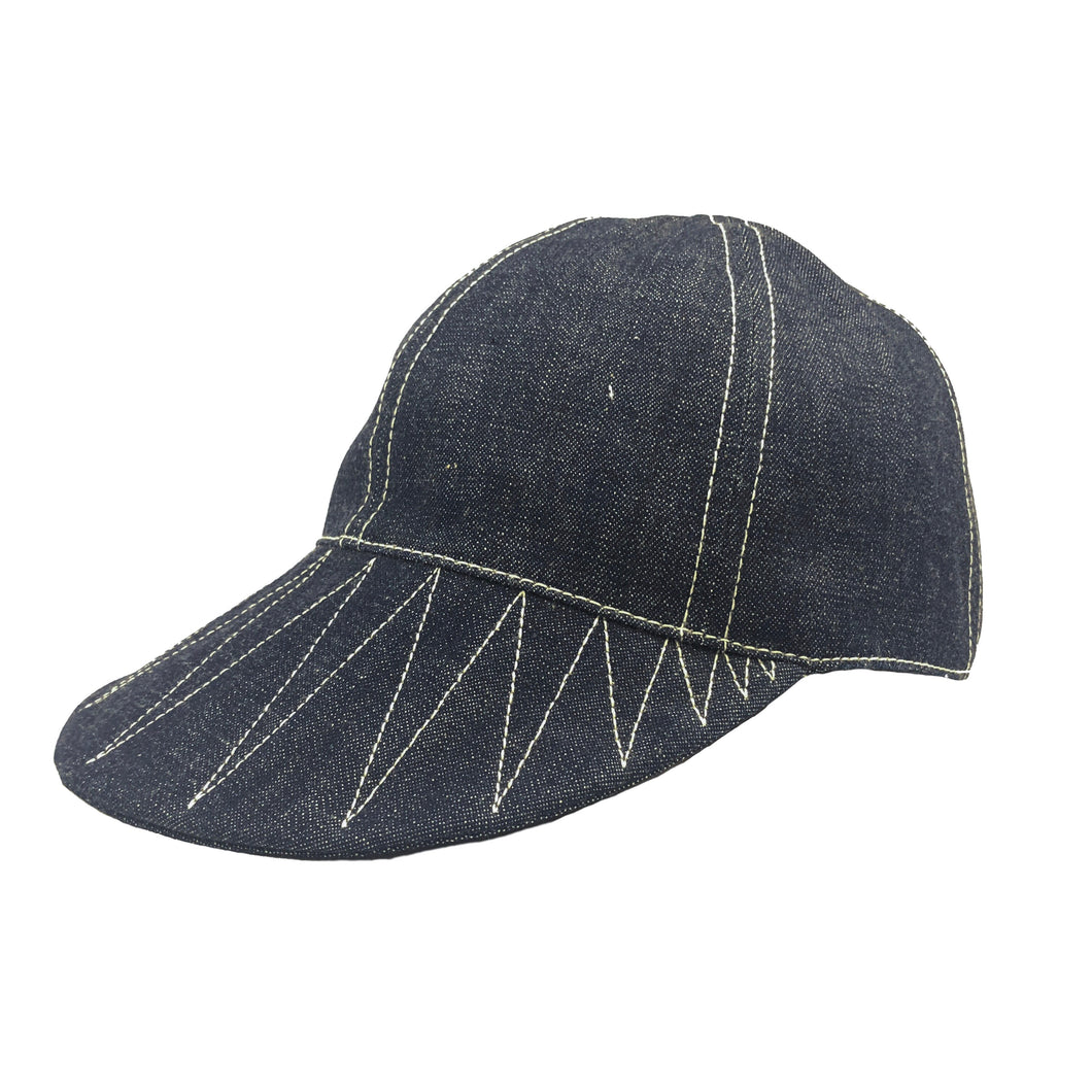 Runabout Goods Mechanic Cap - Indigo - Sunset Dry Goods