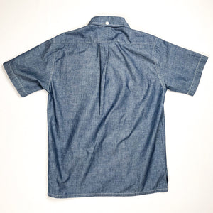 Runabout Goods Oxnard Chambray S/S Popover Shirt - Sunbleached - Sunset Dry Goods & Men's Supply PH