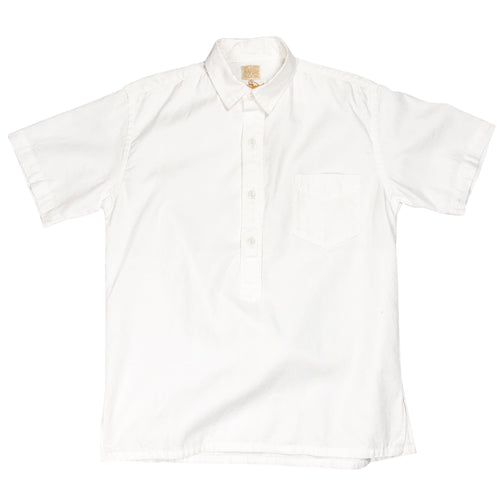Runabout Goods 'Oxnard' Oxford S/S Popover Shirt - Milk - Sunset Dry Goods