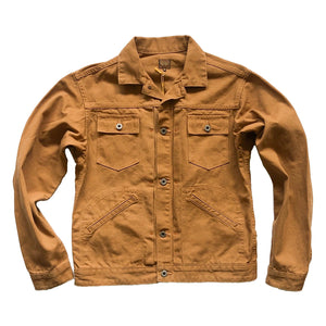 "Runabout Goods ""Starborn"" 12oz. Duck Canvas Jacket - Sunset Dry Goods & Men's Supply PH"