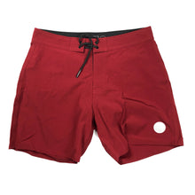 Saturdays NYC Danny Board Shorts - Red Ink - Sunset Dry Goods