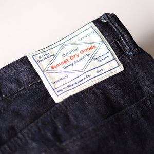 Sunset Dry Goods '702S Super Slub' 16oz. Selvedge Jeans (Slim Cut) - Sunset Dry Goods
