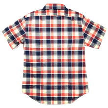 Taylor Stitch California Madras S/S Shirt - Red Plaid - Sunset Dry Goods & Men's Supply PH