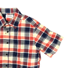 Taylor Stitch 'California' Madras S/S Shirt - Red Plaid - Sunset Dry Goods