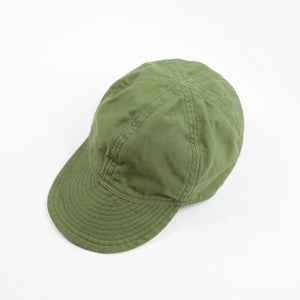 TCB Jeans '40s' Cap - Olive Duck - Sunset Dry Goods