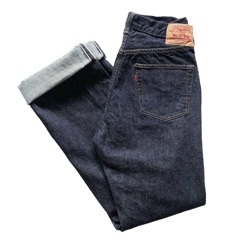 TCB Jeans '50's' 13oz. Unsanforized Japanese Selvede Jeans (Regular Straight) - Sunset Dry Goods