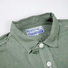 TCB Jeans 'Catlight' Covert Chambray L/S Work Shirt - Green - Sunset Dry Goods
