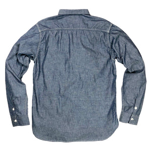 TCB Jeans 'Catlight' Chambray L/S Work Shirt - Indigo - Sunset Dry Goods