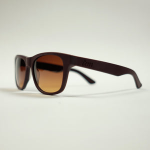 Tens Classic Filter Sunglasses - Deep Red - Sunset Dry Goods