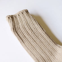 Thunders Love 'Color Block' Crew Socks - Sand - Sunset Dry Goods