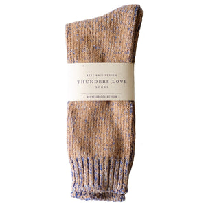 Thunders Love 'Recycled Collection' Crew Socks - True Blue - Sunset Dry Goods