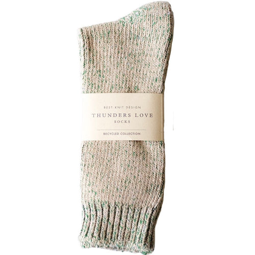 "Thunders Love ""Recycled Collection"" Crew Socks - True Green - Sunset Dry Goods & Men's Supply PH"