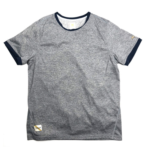 Tracksmith Towne Tee - Grey/Navy - Sunset Dry Goods & Men's Supply PH