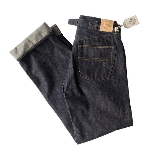 Twerd Mfg. '30's Jean' 13.5oz. Unsanforized Japanese Selvedge Jeans (Regular Cut) - Sunset Dry Goods