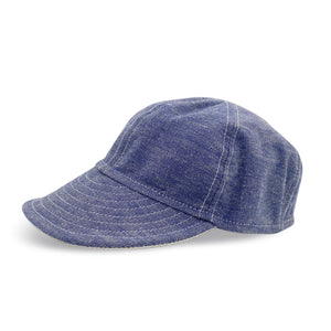 Union of Friends 'V6' Selvedge Denim Cap - Sunset Dry Goods & Men's Supply PH