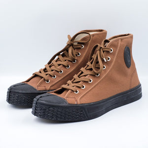 US Rubber Co. Military High Top Sneakers - Brown - Sunset Dry Goods & Men's Supply PH