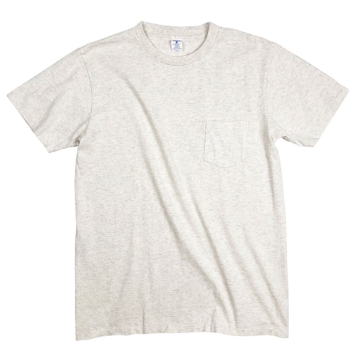 Velva Sheen 2-Pack Pocket Tees - Oatmeal - Sunset Dry Goods