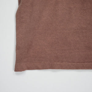 Velva Sheen Pigment Dyed Pocket Tee - Brown - Sunset Dry Goods