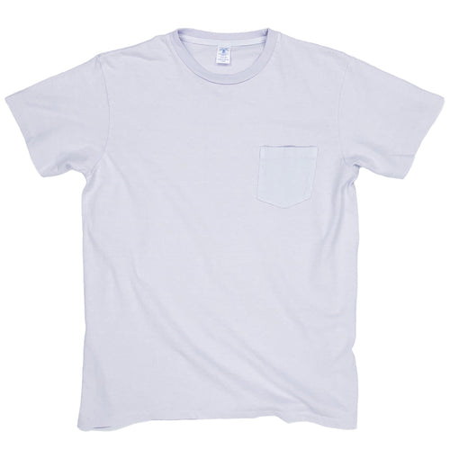 Velva Sheen Pigment Dyed Pocket Tee - Lilac - Sunset Dry Goods