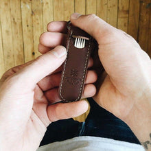 Wilson & Willy's Leather Toothpick Keychain - Black - Sunset Dry Goods