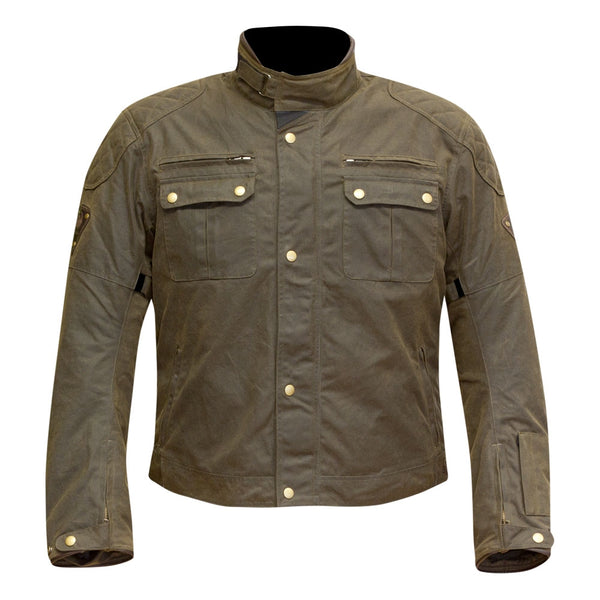 Merlin Sandon Waxed Cotton Jacket - Brown