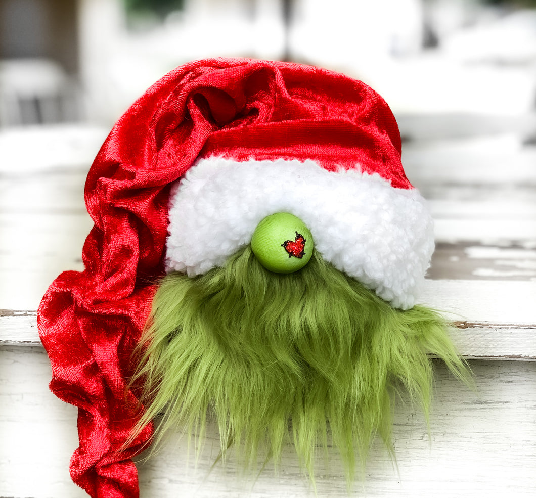 GNOME OF THE DAY! The Grinch Gnome