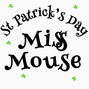 Miss Mouse St Patrick's Day Gnome
